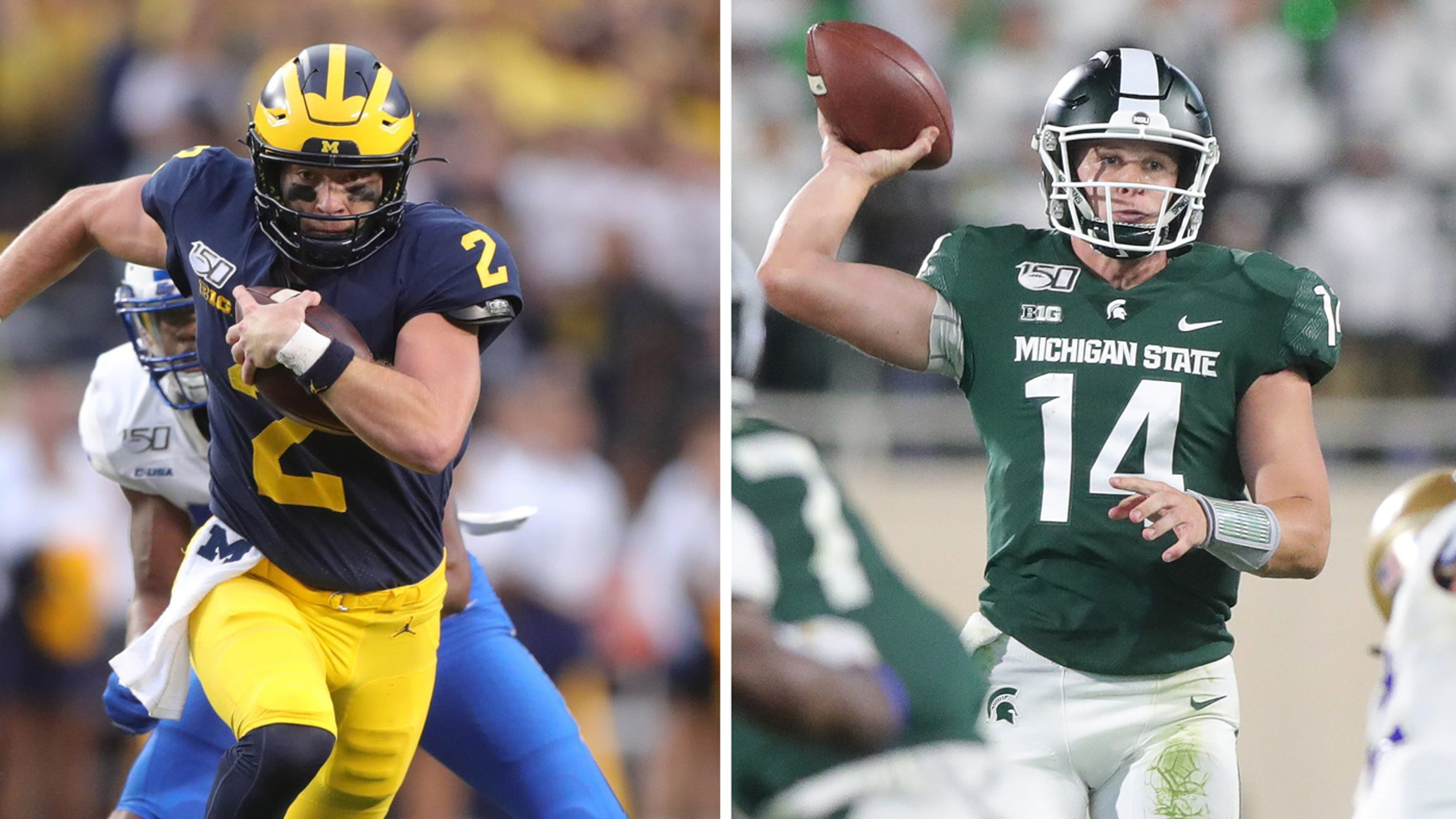 Michigan, Michigan State changed offenses  Where both stand