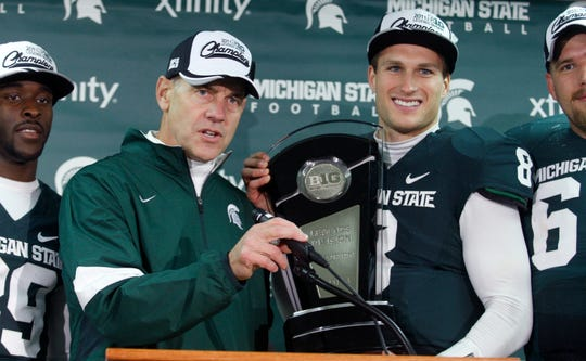 Nov. 19, 2011: Michigan State 55, Indiana 3, Spartan Stadium: In another overwhelming victory, MSU scored the most points under Mark Dantonio and clinched a spot in the inaugural Big Ten championship game, winning the Legends Division.