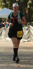 Jodi Sweeney competes in the Kiawah Island Marathon in 2015.