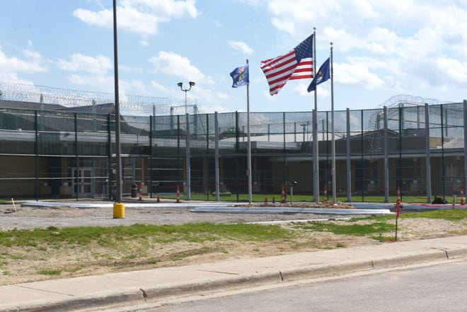 Security is highly visible at Woodland Center Correctional Facility in Whitmore Lake, which treats Michigan's most mentally ill prisoners.