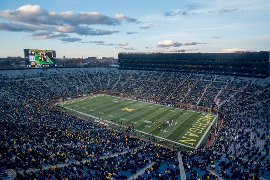 Michigan is host to Army on Saturday at Michigan Stadium.