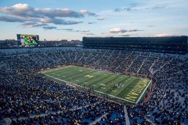 Michigan is host to Army on Saturday at Michigan Stadium.