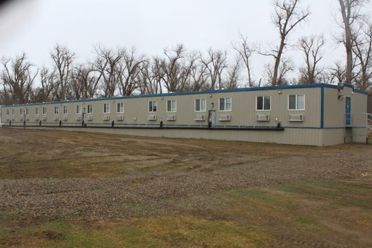 The North Dakota Department of Corrections erected two modular buildings to provide single bedrooms for inmates in their Transitional Housing Unit, one of innovations based on the Norwegian correctional  model.