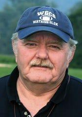 Bob Lee in 2005 as Watkins Glen football coach.