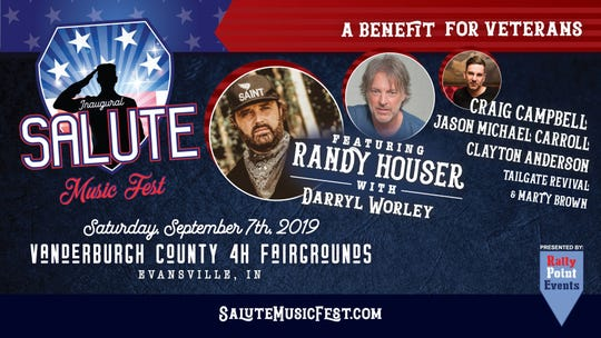 Salute Music Fest is headlined by Randy Houser.