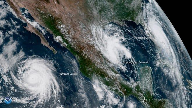 View Hurricane Dorian as of Tuesday, Sept. 3, 2019.