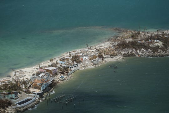 Extensive damage from Hurricane Dorian can be seen in aerial footage from the Bahamas. These are scenes from the chain of islands from Grand Bahama Island to Abaco.