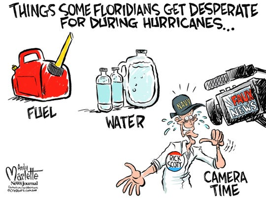 3 things in Florida commentary from Andy Marlette