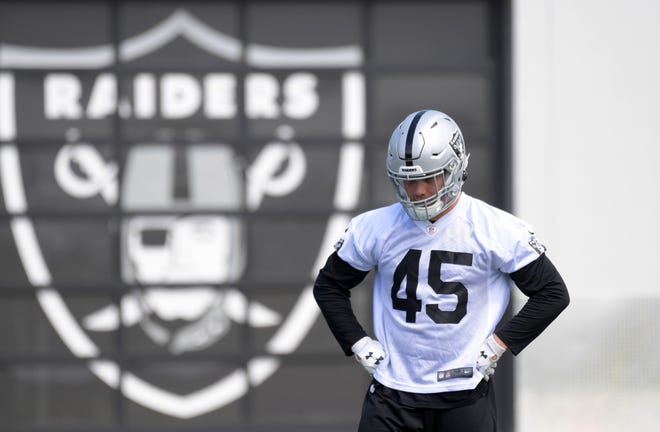 Alec Ingold went undrafted but made the Raiders' 53-man roster.