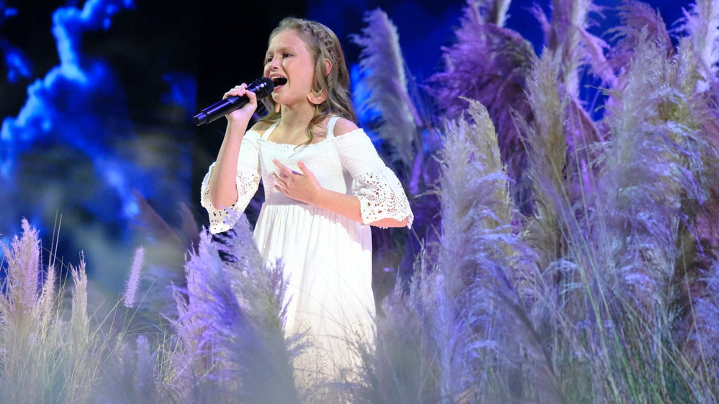 On AGT, Ansley Burns wows judges, sings Carrie Underwood's