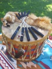The Blue Spirit of Pitakki drum.