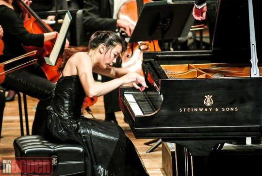 Fanya Lin is a world-renowned pianist who will bring her intense brand of playing to The Jackson Symphony on Saturday.