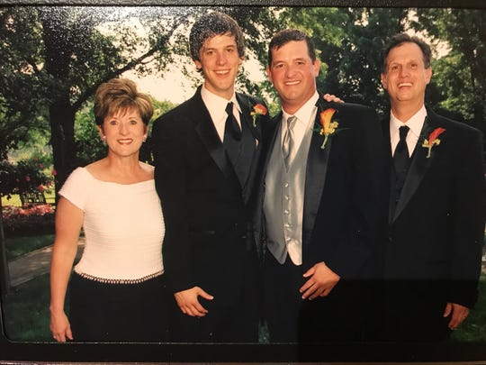 The Smith boys – Gant (second from left) and Chad (third from left) – are flanked by Vicki and Ed.