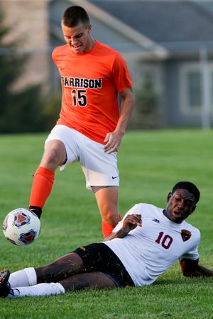McCutcheon forward Alan Bernardez had two goals and an assist in a win over Central Catholic Tuesday.