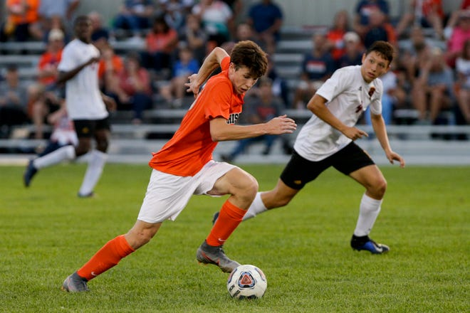 Brendan Hall had a goal and an assist in Wednesday's sectional semifinal win over McCutcheon.