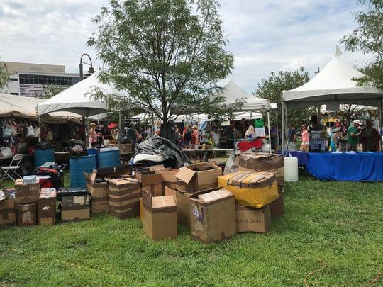 About $1.5 million in counterfeit merchandise was seized at Louisville's WorldFest on Aug. 31, 2019.