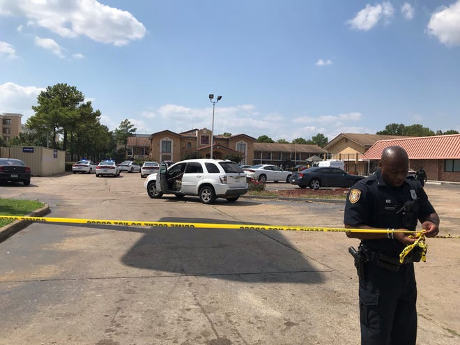 Memphis police responded to a shooting at hotel where a woman was killed and a man was injured after an argument.