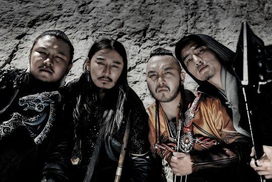 Mongolian metal band The Hu
