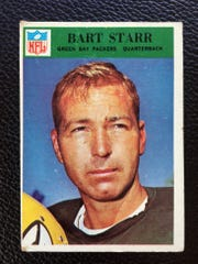 This 1966 Bart Starr trading card was one to hang on to.