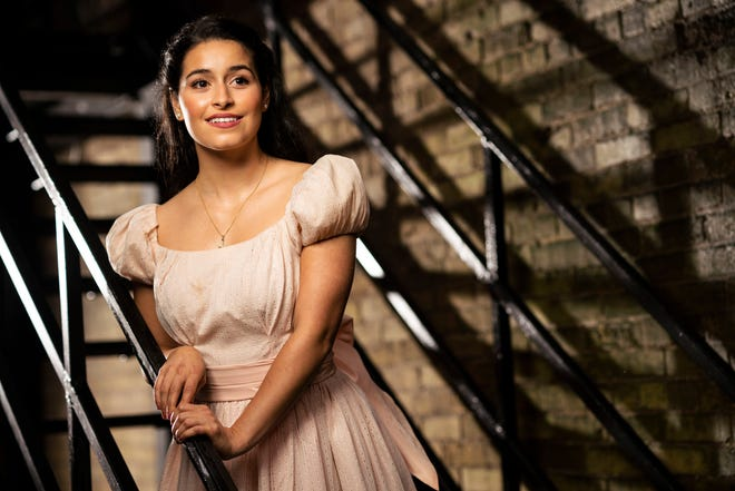 """Liesl Collazo stars in Milwaukee Repertory Theater's """"West Side Story."""" Like her character Maria, Collazo grew up in Puerto Rico."""