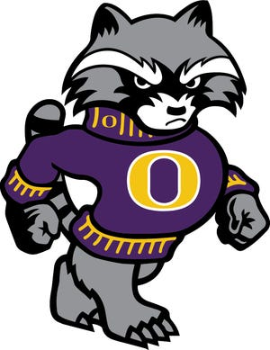 When it's complete, the updated Oconomowoc High School mascot of Rocky the Raccoon, which will be created by Milwaukee-based Olympus Group, will resemble the likeness of the school's logo shown here.