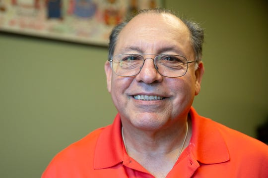 Antonio Guajardo poses for a portrait in the Mexican Fiesta office in Milwaukee on Friday, August 9, 2019.