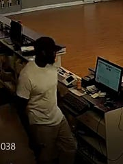 Montgomery police are looking for this man in connection to a robbery at a Metro PCS store on Lower Wetumpka Road.