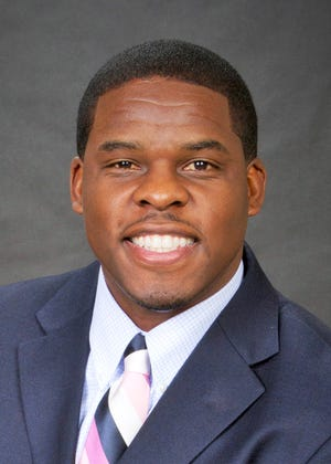 Haven Fields recently joined Ball State as deputy athletics director. Fields played football in college at Auburn.