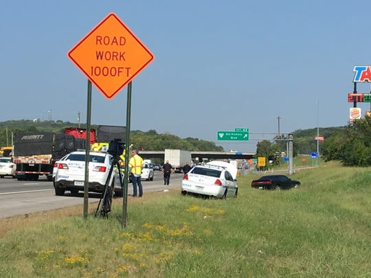 An Aug,. 28 police chase ended on I-24 near Old Hickory Boulevard.