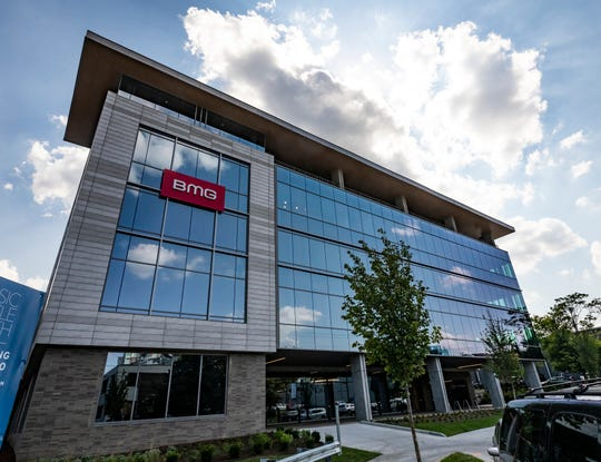 On Tuesday, BMG will celebrate the opening of its new building — a 36,000-square-foot, state-of-the-art office space at 1 Music Circle South.