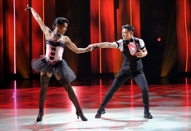Nashville native Mariah Russell, left, and Bailey Munoz dance a cha-cha routine on the Aug. 26 episode of Fox TV's So You Think You Can Dance