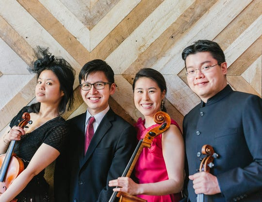 The Formosa Quartet, performing for Classic Chamber Concerts