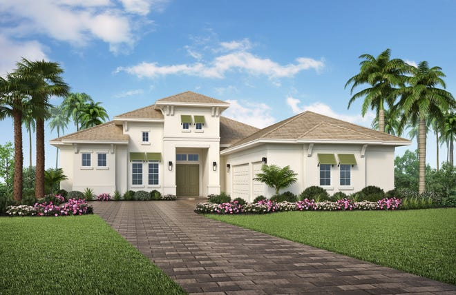 Vogue Interiors' Salvatore Giso is creating the interior design for the 2,947 square foot Madison model at Naples Reserve.