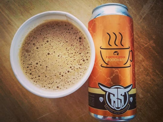 The Pumpkin Spice Moochiato from Bolero Snort is a milk stout brewed with autumnal flavors like cinnamon and all spice.