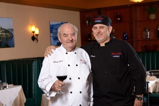 Palm Springs restaurateur Johnny Costa — chef to Frank Sinatra — dies at age 87