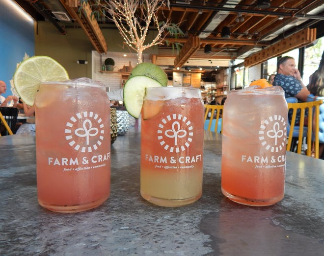 Farm & Craft, located in Old Town Scottsdale, offers a variety of cocktails made with kombucha.