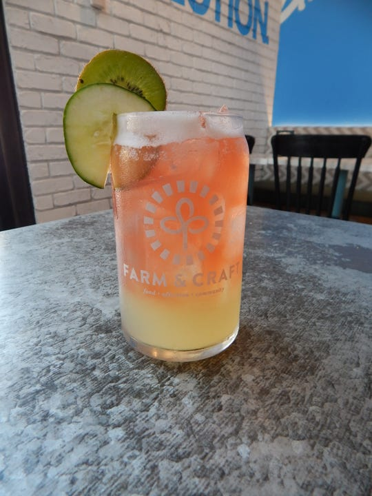 Farm & Craft, located in Oldtown Scottsdale, offers a variety of cocktails made with kombucha.
