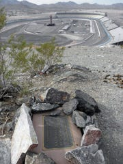Phoenix International Raceway as seen from Monument Hill.