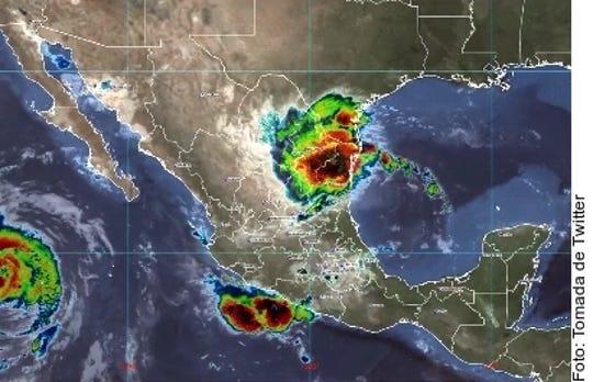 Se prevé que 'Fernand' impacte en las próximas horas en Tamaulipas.