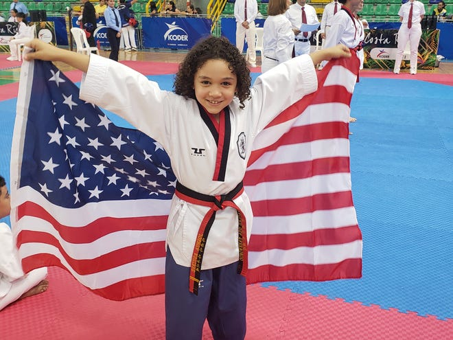 Lebanon's Joshua Aguirre continued to thrive and then some on the international taekwondo scene over the Labor Day weekend, earning one gold medal and one bronze medal at the Costa Rica Open International  Taekwondo  Championships.