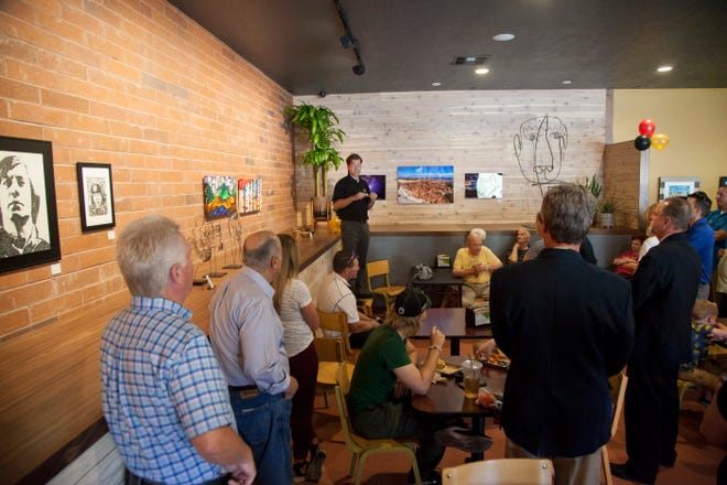 Morty's Cafe Co-founder Preston Parker discusses the inspiration and direction of his restaurant Tuesday, Sept. 3, 2019.