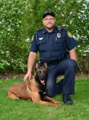 Luna served as a police dog with the Stevens Point Police Department. Her partner and handler was J.D. Ballew.
