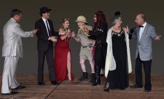 """Monticello Opera House is presenting """"Murder at Cafe Noir."""""""