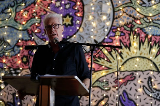 "Florida State University Professor and Poet David Kirby reads from his new poetry book ""More Than This"" at The Bark Tuesday, Sept. 4, 2019."