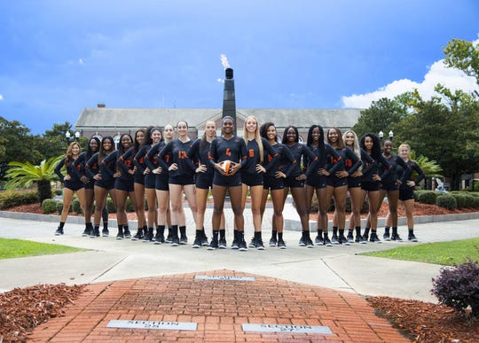 Florida A&M's volleyball program features five players born outside of the United States. Among them are María Yvett García of Santo Domingo, Dominican Republic (4), Radka Dimitrova (6) of Sofia, Bulgaria, Elena Dimitrova of Sofia, Bulgaria (left of García), Aybuke  Kocabiyik (13) of Istanbul, Turkey and Ilayda Nurkan (left of Kocabiyik) of Istanbul, Turkey.