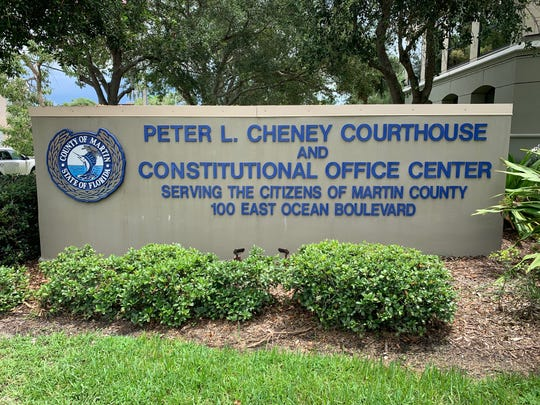 Peter L. Cheney Courthouse and Constitutional Office Center, 100 East Ocean Boulevard, Stuart, FL. The Martin County Courthouse remains closed through Wednesday.