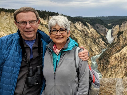 The overlook at Artist Point in Yellowstone National Park was one of many pleasant moments of David Loe and wife Tisha's summer vacation, but the challenges of an emergency hospitalization was on the immediate horizon for Loe, a travel writer.