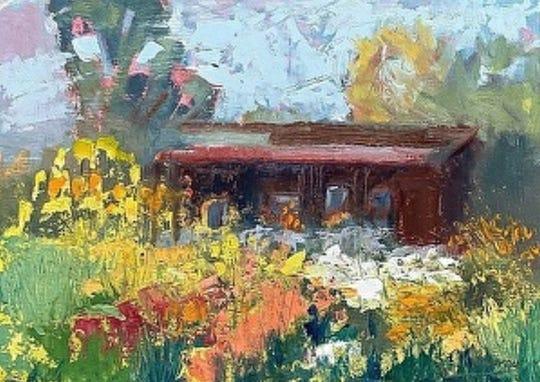 TheSanta Paula Society of the Arts will host artist Lisa Mahony for a free art lesson Sept.8 at theRailroad Depot in Santa Paula.