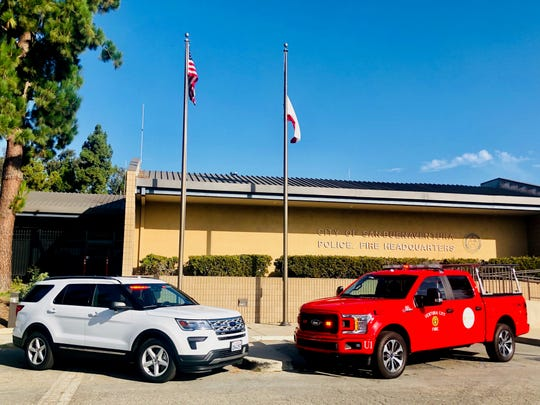 A sport utility vehicle and pickup truck were donated to the Ventura Fire Department by Santa Barbara nonprofit Direct Relief in an effort to support emergency response efforts in the city.