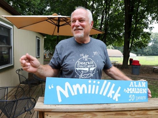 Alan Malden retired at the end of this summer after 50 years as Camp Director at Deerkill Day Camp in Suffern Sept. 4, 2019. He was known for hollering when it was time for milk.